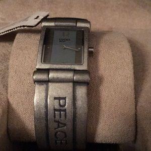 Lucky brand bracelet watch
